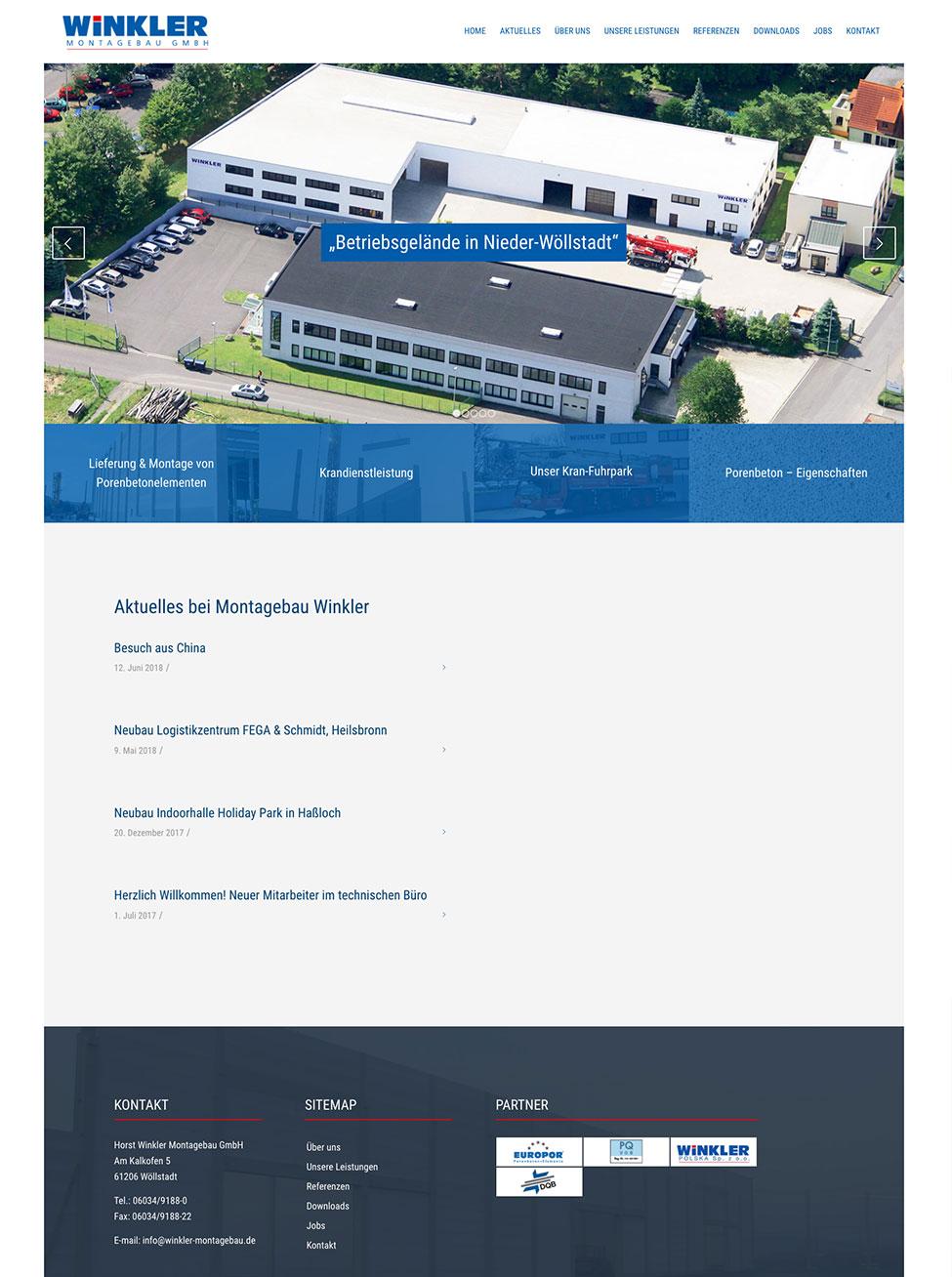 Horst Winkler Montagebau GmbH