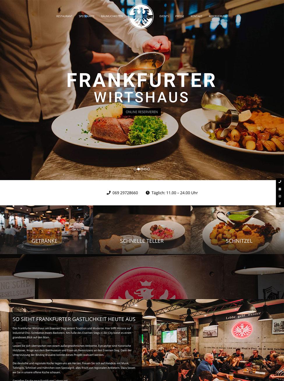 Frankfurter Wirtshaus |Restaurant